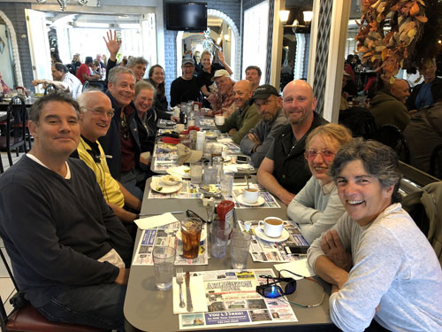 Production Crew - Lunch at the Arlington Diner